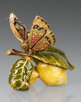 Jay Strongwater Darcy Butterfly on Lemons Objet