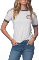 Rip Curl Women's Snow Days Ringer Tee