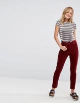 Monki Cord Slim Trousers