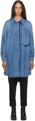 MM6 MAISON MARGIELA Blue Oversize Denim Jacket