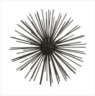 House Doctor - Decoration Ball Matt Black 23 cm - 23 cm. | metal | black - Black/Black