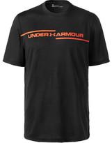 Under Armour Threadborne Printed Jersey T-shirt - Black