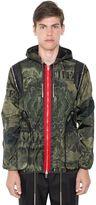 Givenchy Camo Dollar Print Techno Satin Jacket