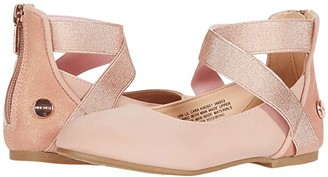 Nine West Lil Cara (Toddler) (Blush) Girl's Shoes