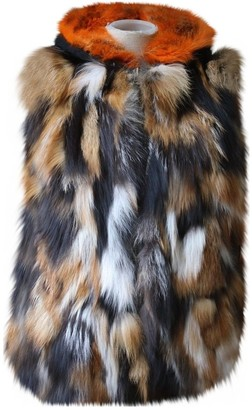 Mr & Mrs Italy Brown Mink Jacket for Women