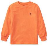 Ralph Lauren Childrenswear Long-Sleeve Cotton Jersey T-Shirt