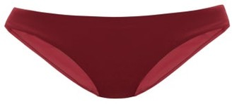 The Fold D+ Swim - The Staple Low-rise Bikini Briefs - Burgundy