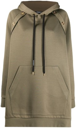Versace Bi-Colour Oversized Hoodie