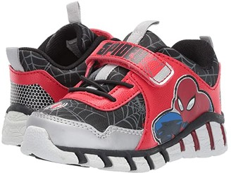Favorite Characters Spidermantm Lighted SPF377 (Toddler/Little Kid) (Black) Boy's Shoes