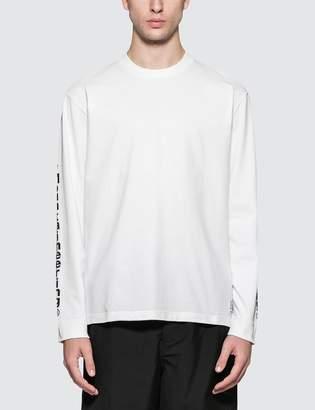 White Mountaineering Wm Logo Printed L/S T-Shirt