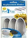Telebrands PedEgg Replacement Blades with Emery Pads - 3 pack