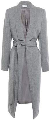 Rebecca Vallance Melange Wool-blend Felt Coat
