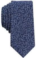 Bar III Men's Secretariat Horseshoe Slim Tie, Created for Macy's