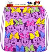 Disney Womens Minnie Mouse and Daisy Duck Fleece Tote Bag