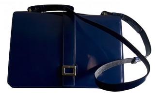 Roger Vivier Navy Patent leather Handbags