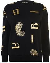 Biba Leopard AOP Sweatshirt