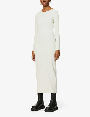 The Odder Side Sloan organic cotton-blend midi dress