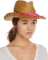 Echo Palm Fringe Panama Hat