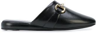 Gucci Pericle Horsebit slippers