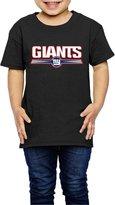 Sofia-Child NY New York Giants Football Logo Kids T-shirts 2 Toddler (2-6 Toddler)