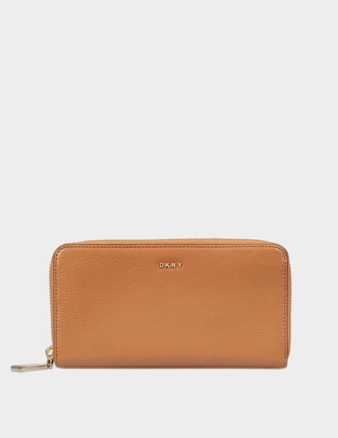 DKNY Chelsea Vintage large zip around wallet