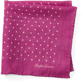 Ralph Lauren Purple Label Polka-Dot Pocket Square