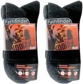 Kodiak Men's 6 Pairs of Soft Protective Toe Ankle Work Socks, US Shoe Size 7-12