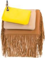 Fendi Triplette Fringe Handbag