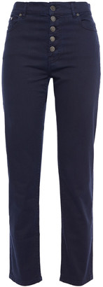 Joseph Den Cropped High-rise Straight-leg Jeans