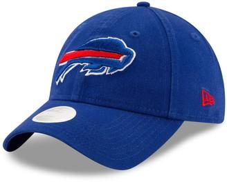 New Era Women's Royal Buffalo Bills Core Classic Primary 9TWENTY Adjustable Hat