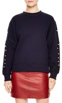 Sandro Women's Embellished Sweatshirt