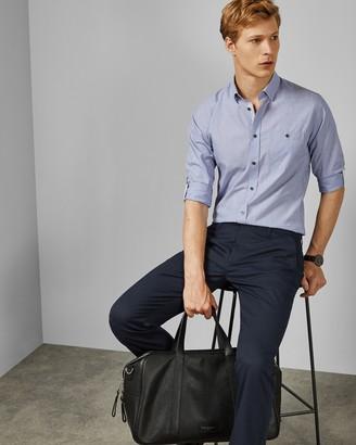Ted Baker AAARON Long sleeved cotton shirt