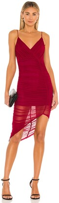 superdown Ruched Mini Dress