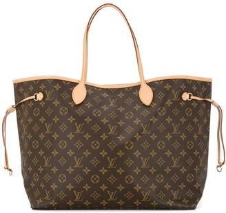Louis Vuitton Pre Owned Neverfull GM monogram tote
