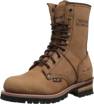 "AdTec Ad Tec Women's 9"" Logger Brown-W Boot (Brown Numeric_7)"