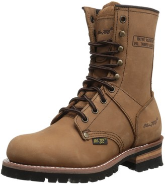 "AdTec Women's 9"" Logger Work Boot"