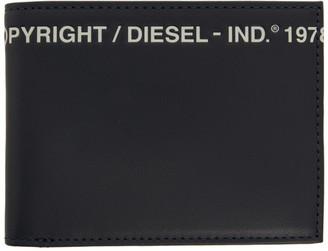 Diesel Navy Copyright Bifold Wallet