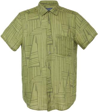 Frescobol Carioca Printed Linen Button-Up Shirt