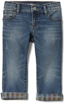 Gap 1969 High Stretch Brushed Denim Slim Jeans