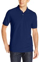 Dockers Short Sleeve Pique Polo with Embroidered Logo