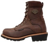 Harley Davidson Tyson Laceup Boots Brown