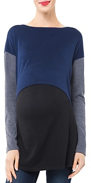 Nom Maternity Sia Maternity & Nursing Tunic Sweater