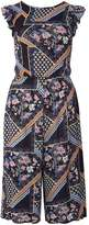 Dorothy Perkins Floral Mix Tie Back Jumpsuit