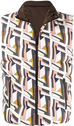 Fendi reversible double F vest