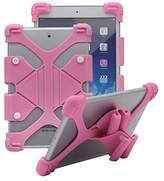 """Tsmine RCA 7 Voyager II RCT6773W22B 7"""" Tablet Silicone Shockproof case -Universal Elastic Stand Soft Skin Cover"""