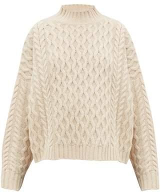 Max Mara Origano Sweater - Womens - Cream