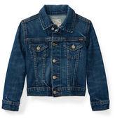 Ralph Lauren Childrenswear Stretch Denim Trucker Jacket