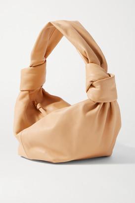 Bottega Veneta Mini Knotted Leather Tote - Sand