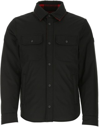 Woolrich Check Detail Reversible Padded Jacket