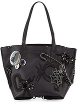 Marc Jacobs Wingman Badges Tote Bag, Black